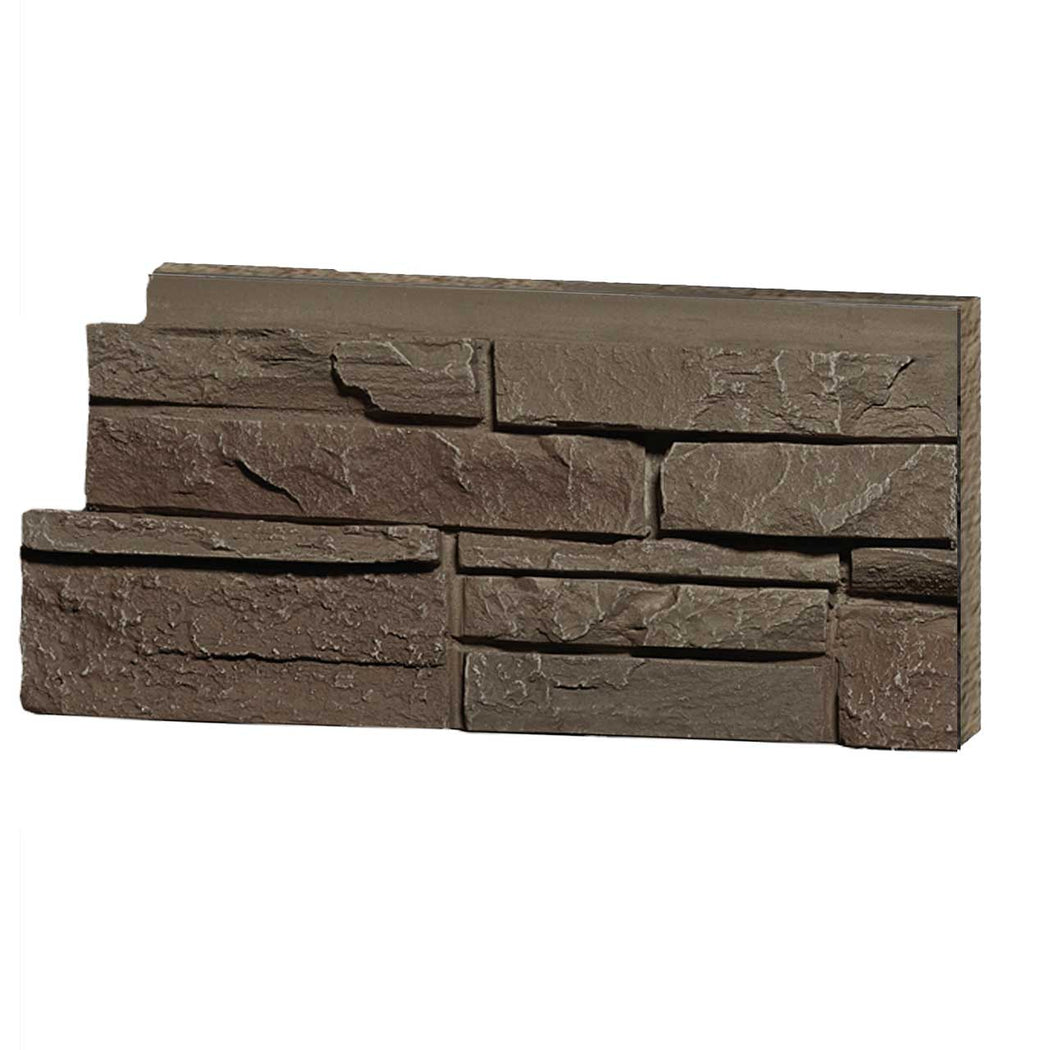 Stacked Stone Light Brown Sample