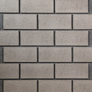 "CINDER BLOCK - 48""X48"" MODERN - WASHED GREY"