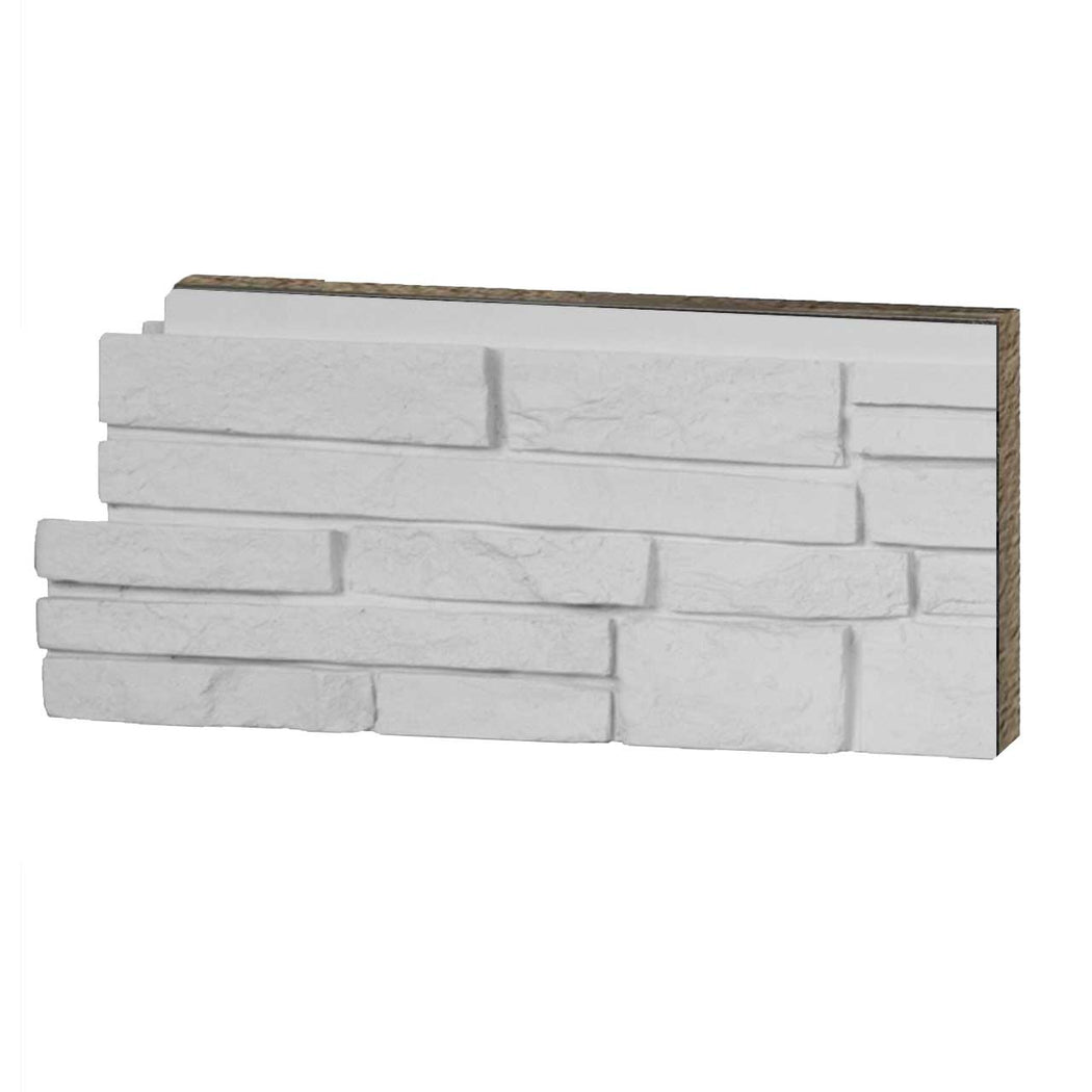 STACKED STONE - SIMPLY WHITE- SAMPLE