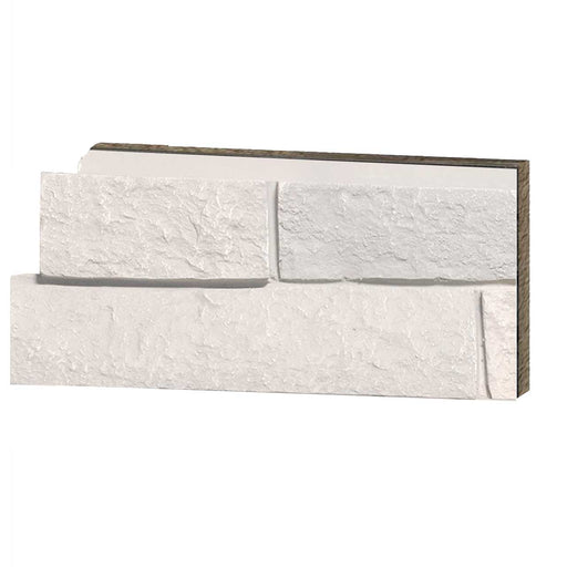 FAUX LEDGE STONE - SIMPLY WHITE - SAMPLE