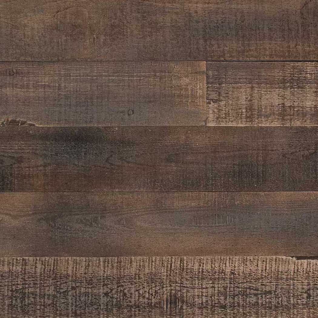 DISTRESSED WOOD WALL - BROWN-ISH