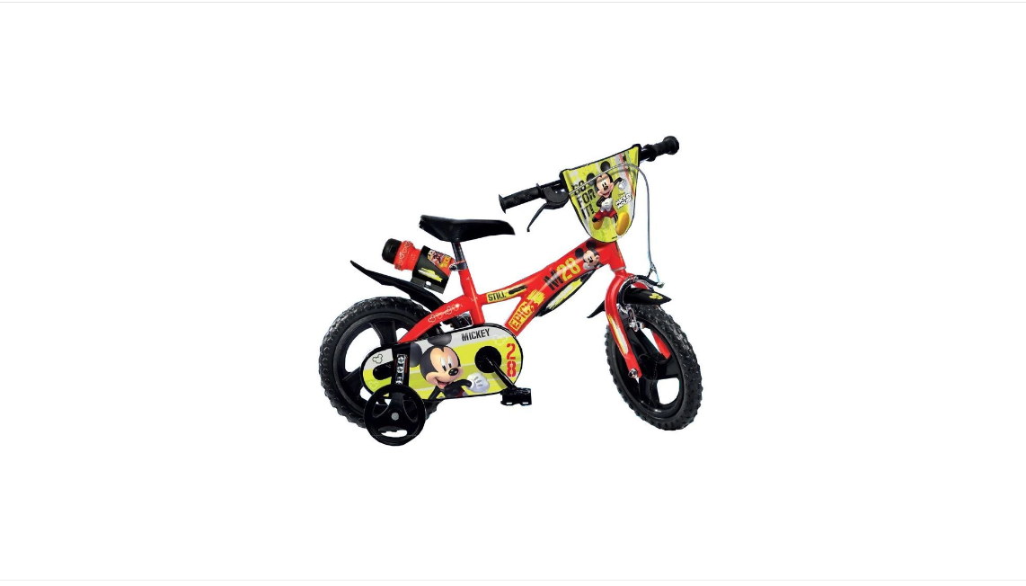 Bicicleta MICKEY MOUSE (6091032953029)