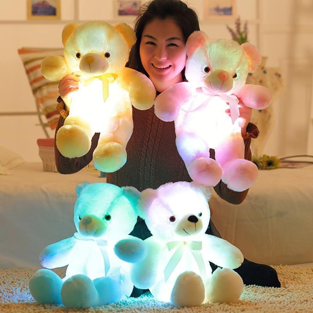 Light Up Your Kids World With Our GLO TEDDY!