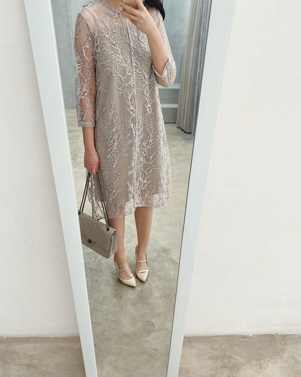 Katya Taupe Dress