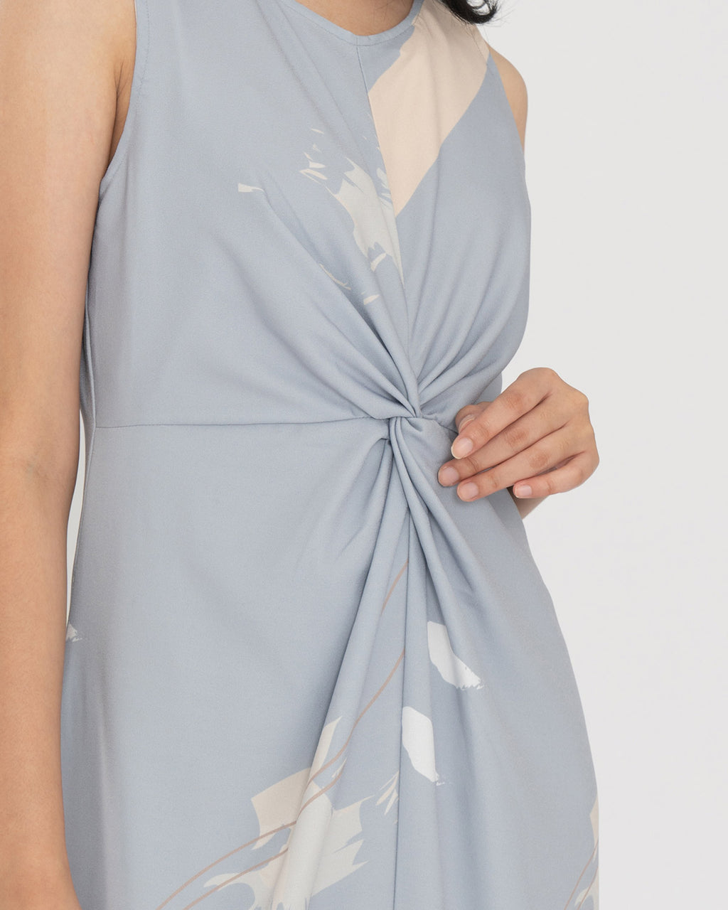 Narelle Light Blue Print Dress