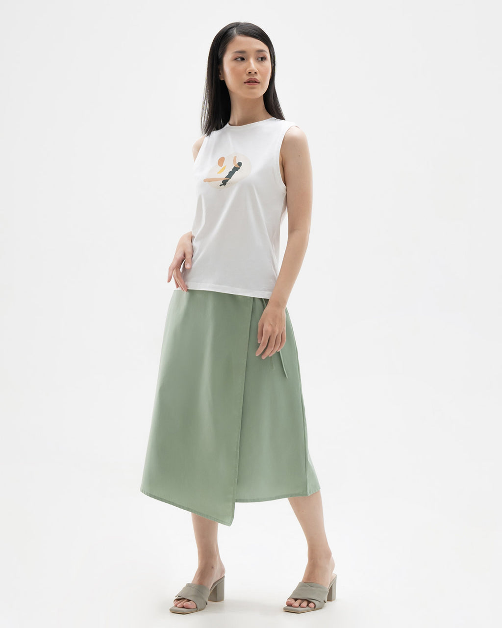 Tiana Sleeveless T-shirt