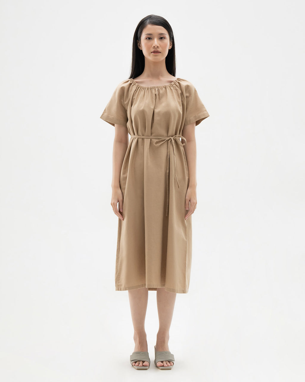 Filipa Khaki Dress