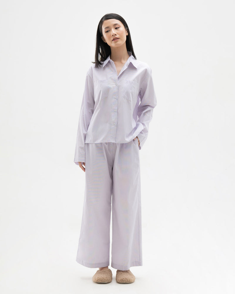 Willow Lilac Stripes Pajamas