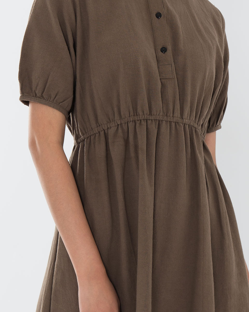 Drea Dark Brown Dress