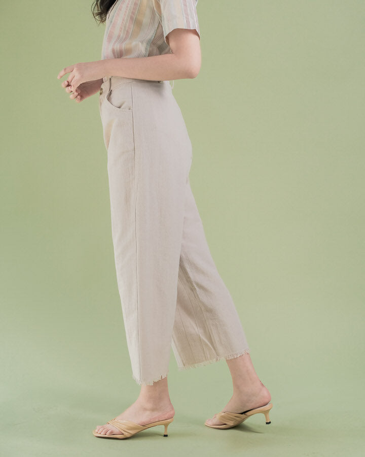 Cream Sena Pants