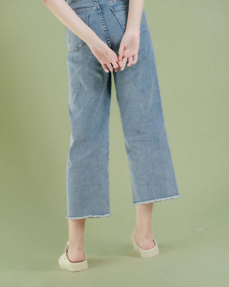 Denim So Hee Culotte