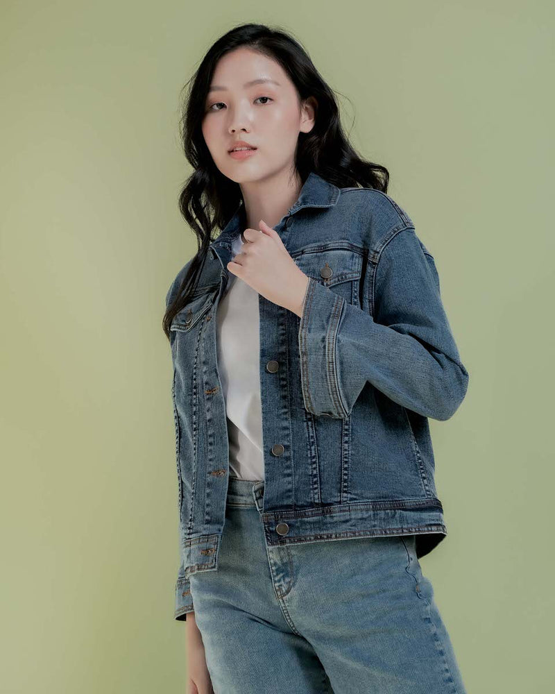 Denim Ji Yeong Jacket