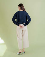 Navy Eun Ae Top