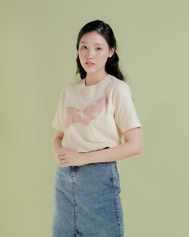 Cream Bean T-Shirt