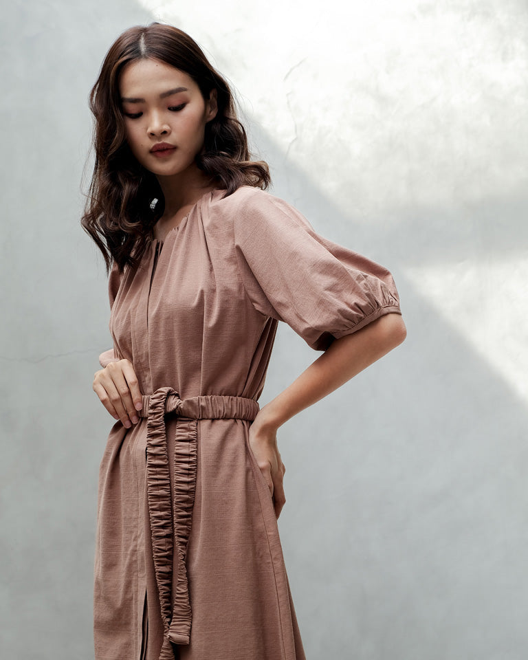 Caramel Jeong A Dress