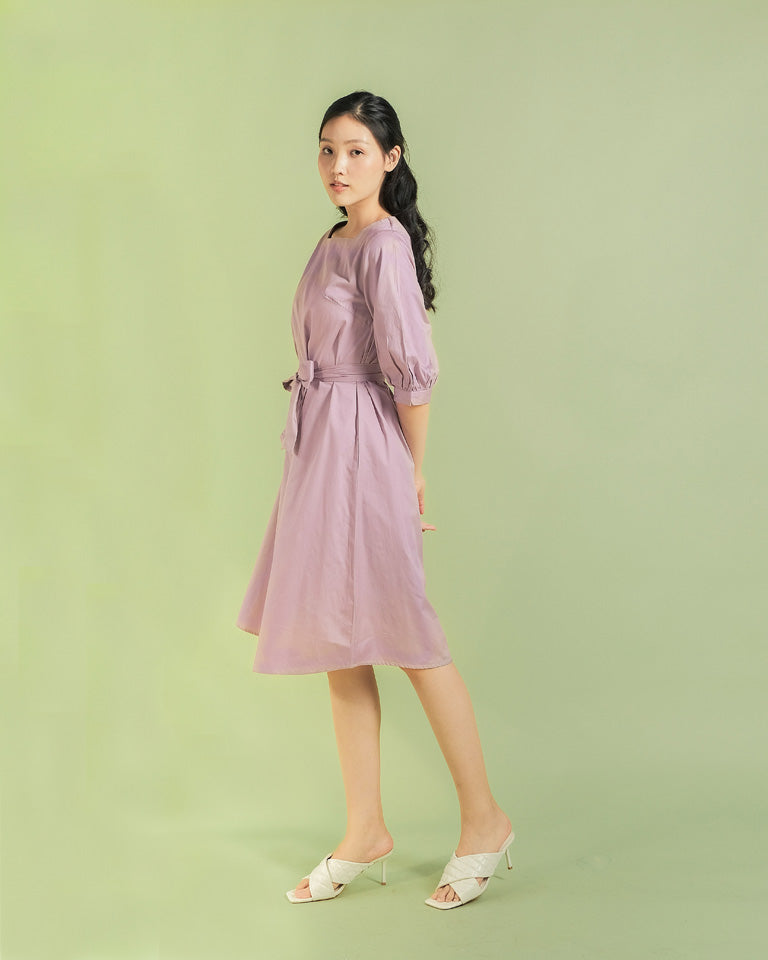 Lilac Hye Jin Dress