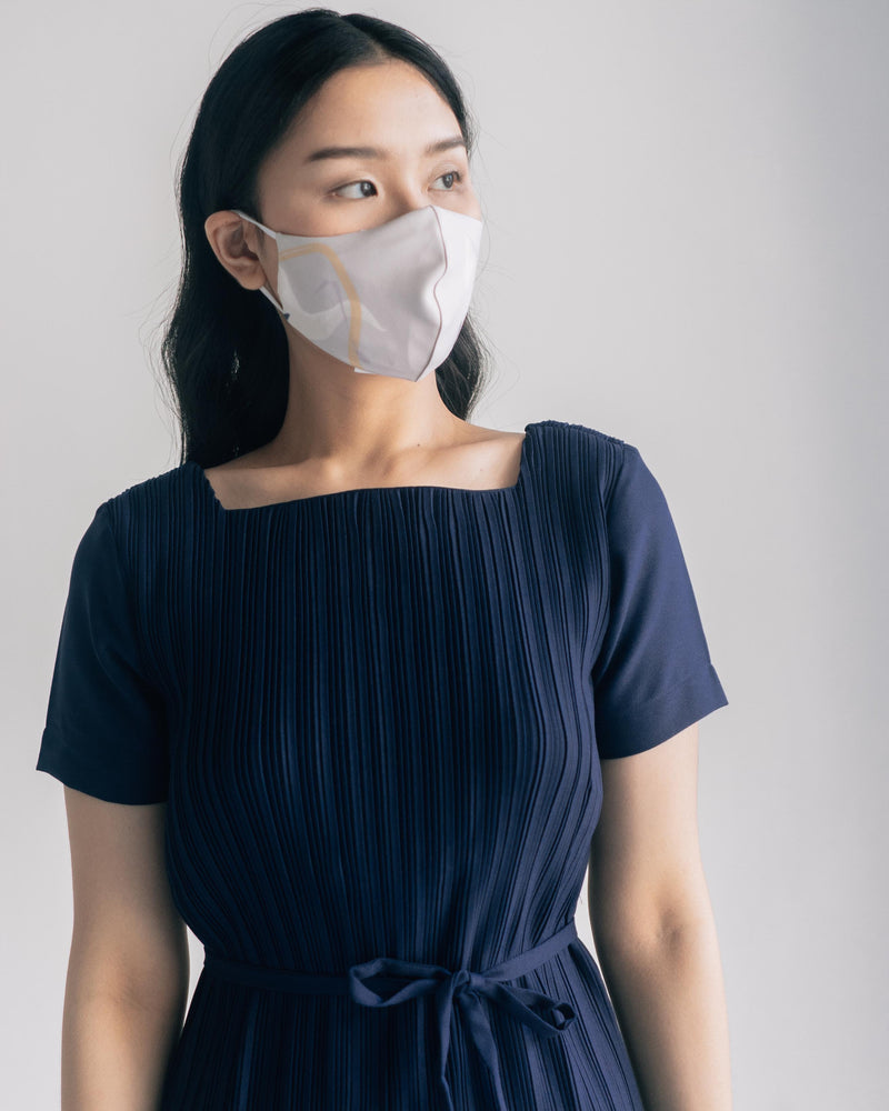 Serene Mask in Navy Gray