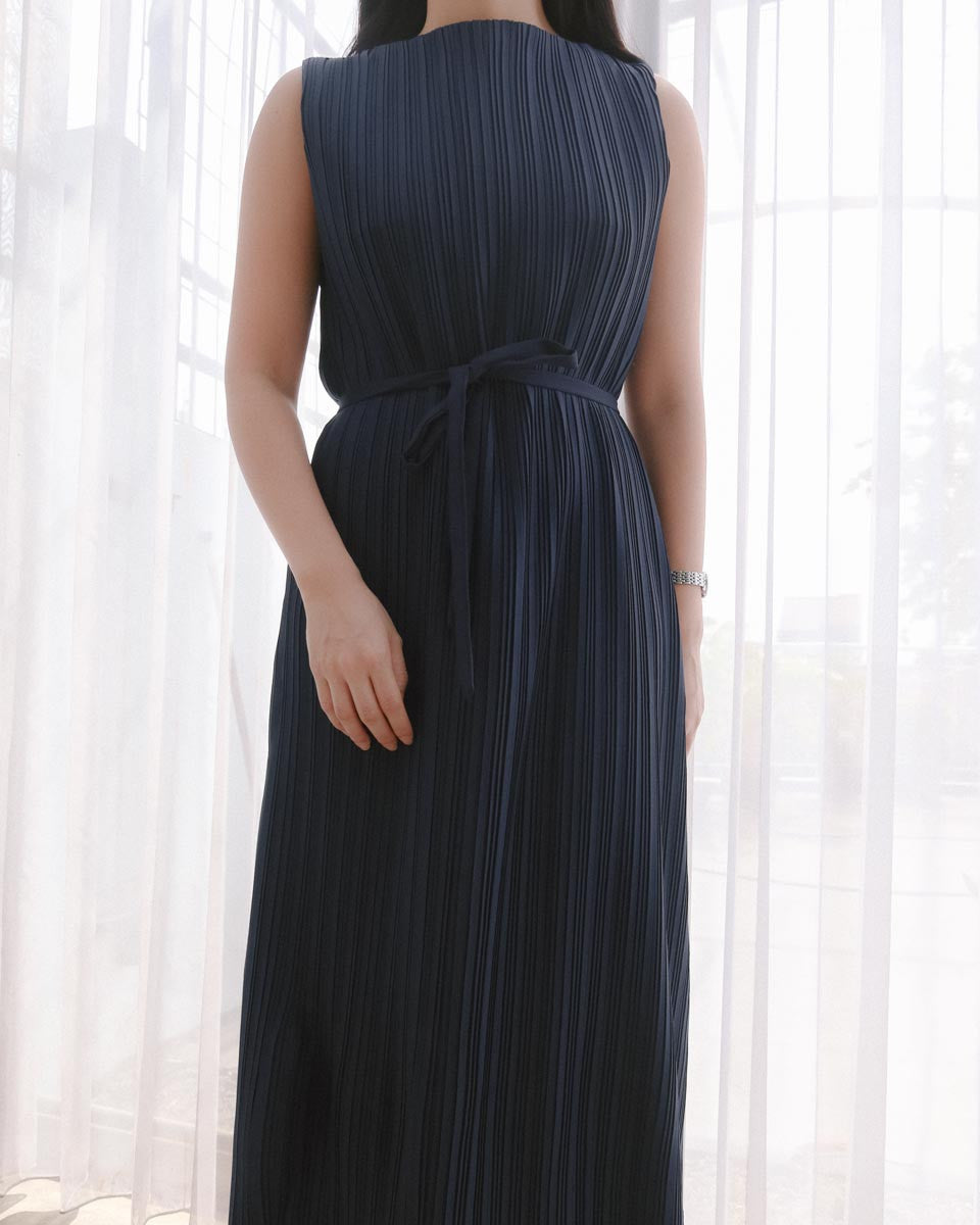 Vean Navy Dress