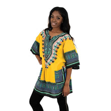 Load image into Gallery viewer, Traditional Print Dashiki