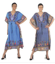 Load image into Gallery viewer, Draw string African Women Kaftan