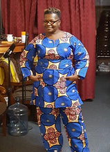 Load image into Gallery viewer, African Circle Print Pant Set