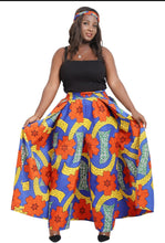 Load image into Gallery viewer, African wax print skirt/Pants