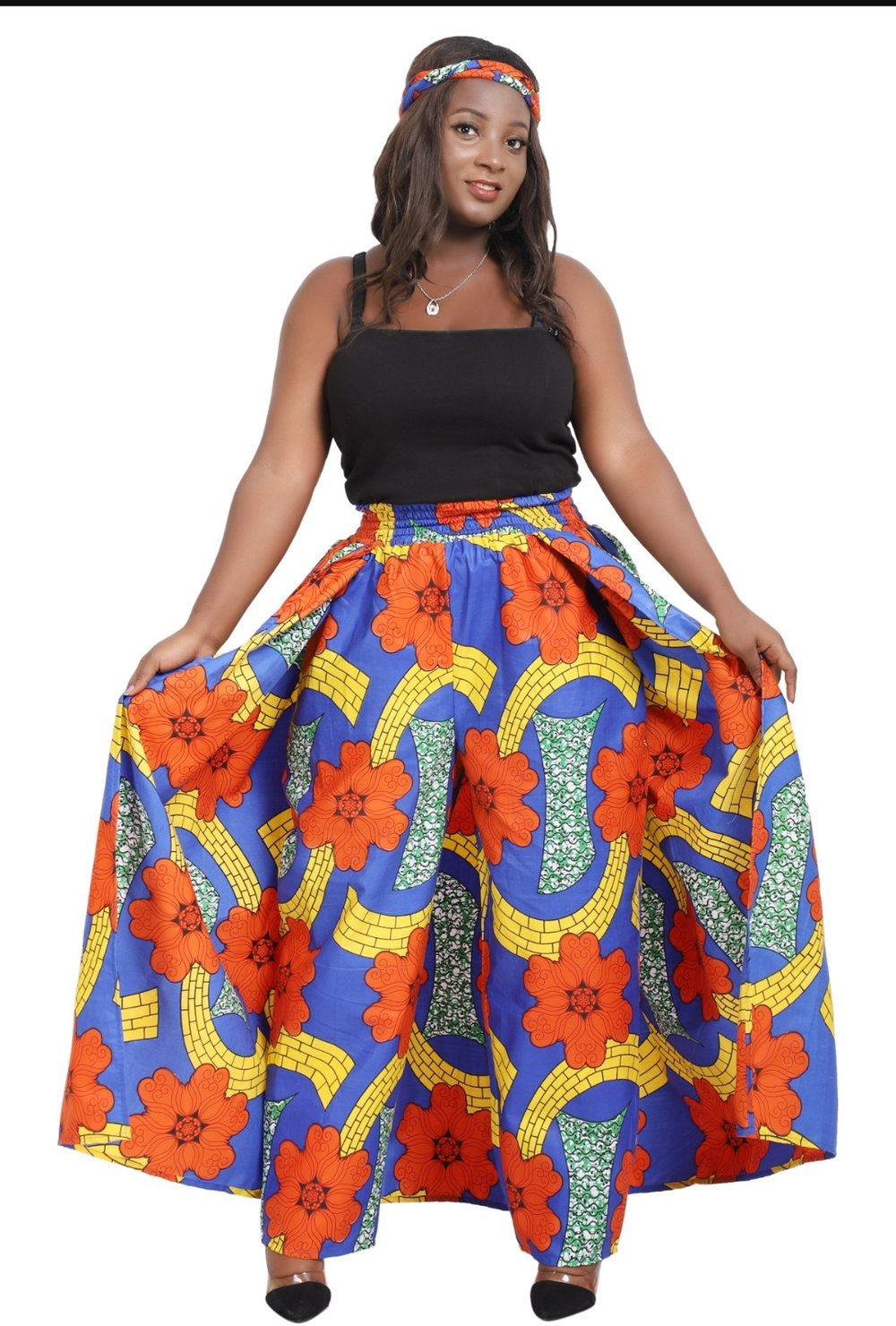 African wax print skirt/Pants