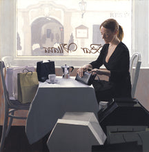 Load image into Gallery viewer, Iain Faulkner, Coffee Break 74/150 Limited Edition Print