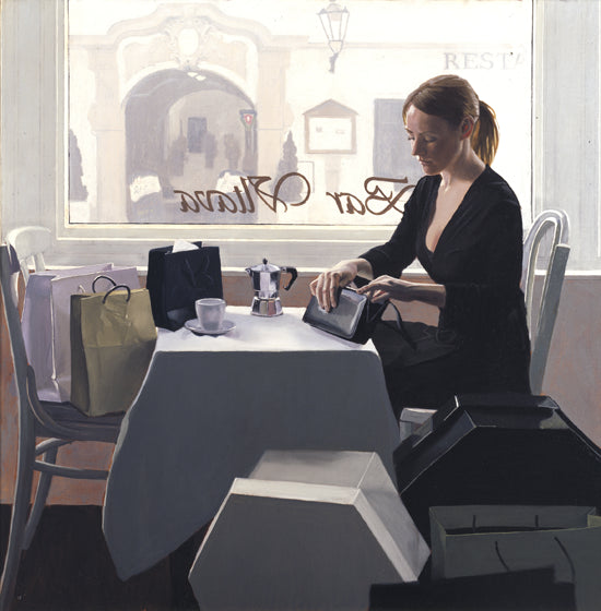 Iain Faulkner, Coffee Break 74/150 Limited Edition Print