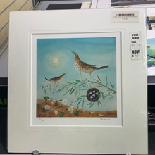Load image into Gallery viewer, REDUCED TO CLEAR Carolyn Pavey Hare & Bird Prints