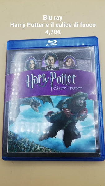 blu ray harry potter e il calice di fuoco