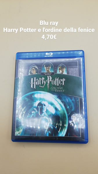 blu ray harry potter e l'ordine della fenice