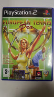 PS2 PlayStation 2 - European tennis pro
