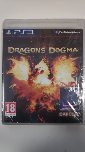 PS3 PlayStation 3 -Dragons Dogma Nuovo