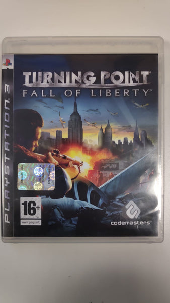 PS3 PlayStation 3 - Turning point - Fall of liberty