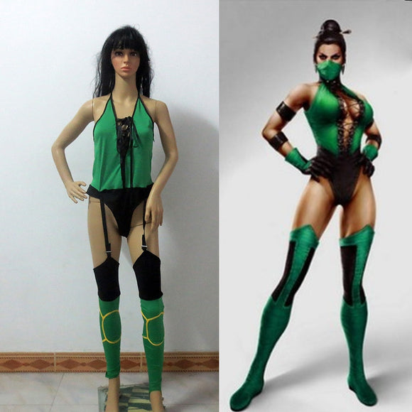 Mortal Kombat Jade Cosplay Costume Christmas And Halloween Costume Custom Made Any Size