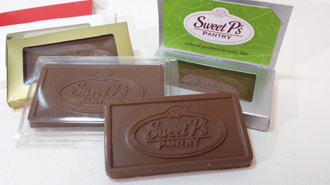 Personalized Chocolate Business Card