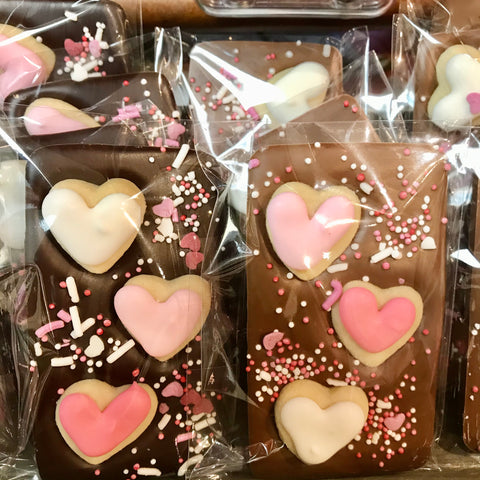 Heart Cookie Bar
