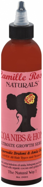 Camille Rose Cocoa Nibs & Honey Growth Serum 8 oz.