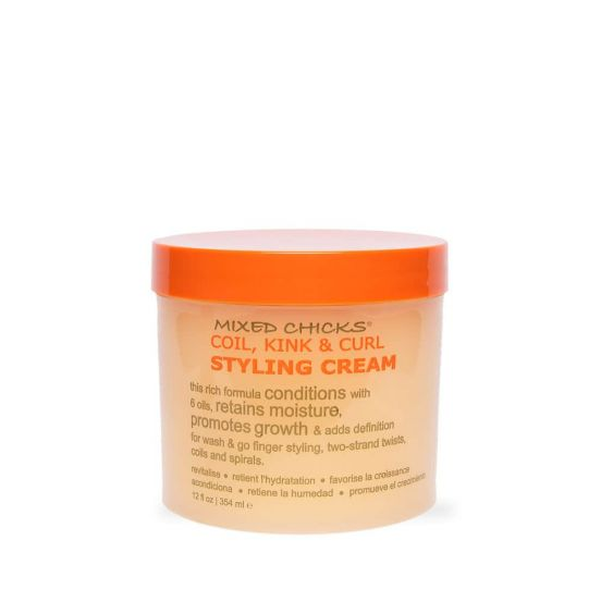 Mixed Chicks Coil, Kinks & Waves Styling Cream 12 oz.