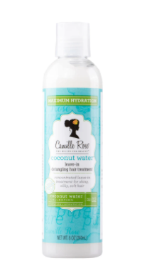 Camille Rose Coconut Water Leave-In Treatment - Heavenly Browns Beauty