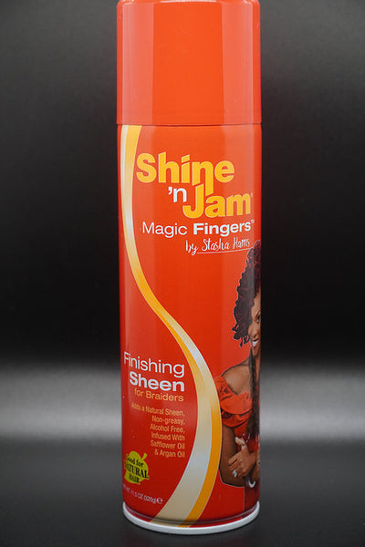Shine N' Jam Magic Fingers Finishing Sheen For Braiders