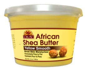 Okay 100% Pure Shea Butter Yellow Smooth