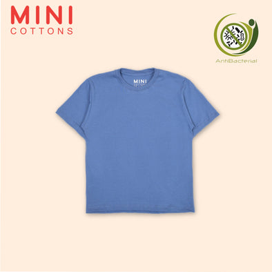 MINI COTTONS BLUE BASIC TEE