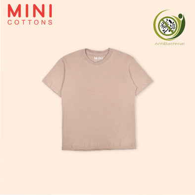MINI COTTONS BROWN BASIC TEE