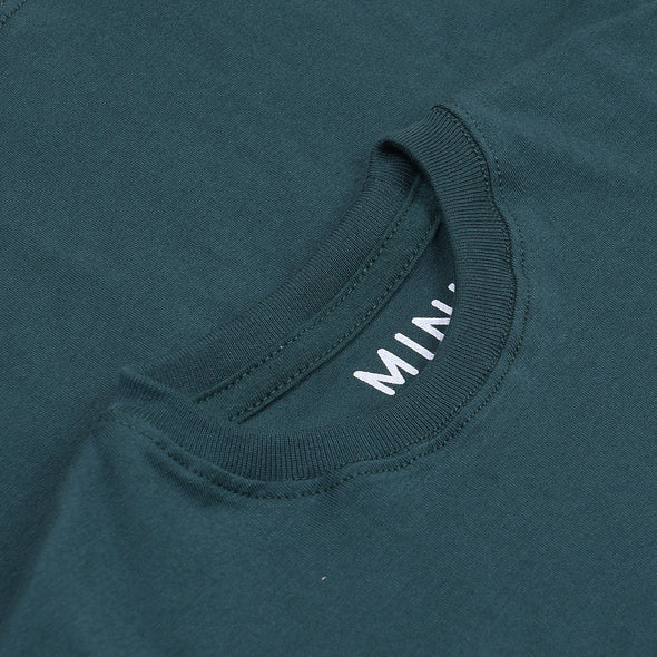 MINI COTTONS GREEN BASIC TEE