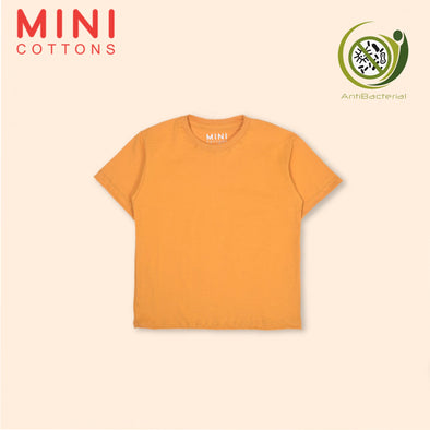 MINI COTTONS MUSTARD BASIC TEE