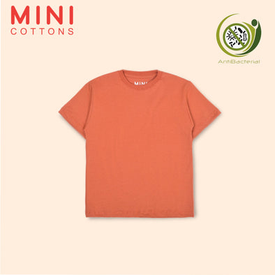 MINI COTTONS ORANGE BASIC TEE