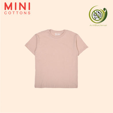 MINI COTTONS CREAM BASIC TEE