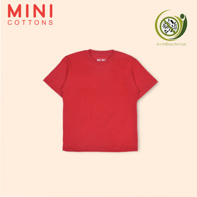 MINI COTTONS RED BASIC TEE